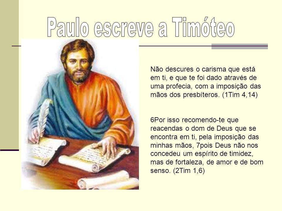 Paulo escreve a Timóteo