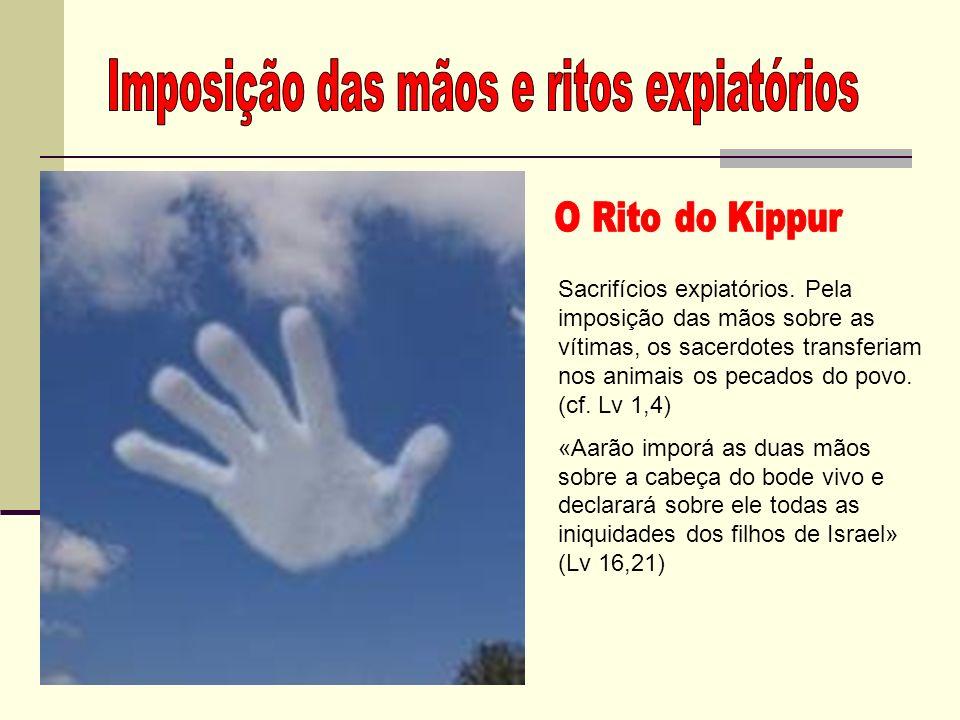 Imposição das mãos e ritos expiatórios
