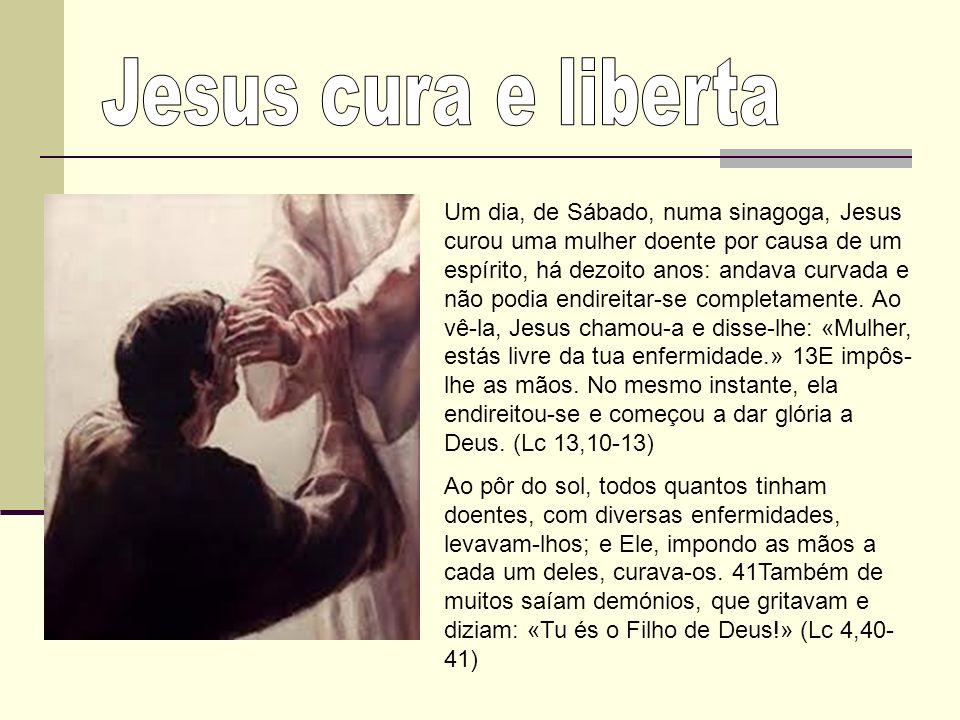 Jesus cura e liberta