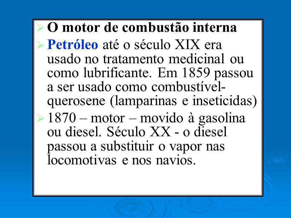 O motor de combustão interna