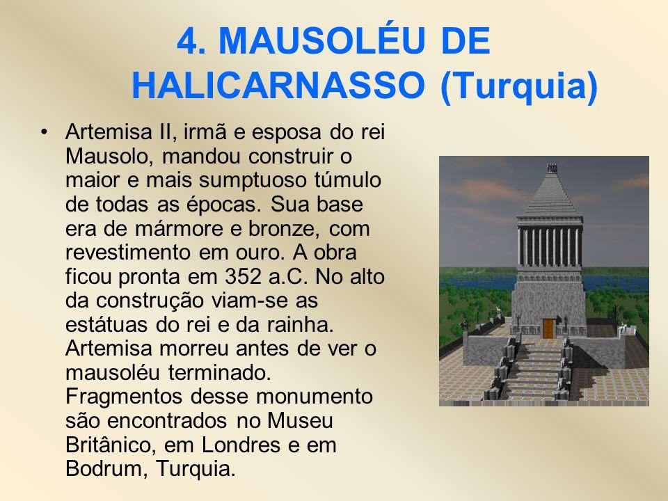 4. MAUSOLÉU DE HALICARNASSO (Turquia)