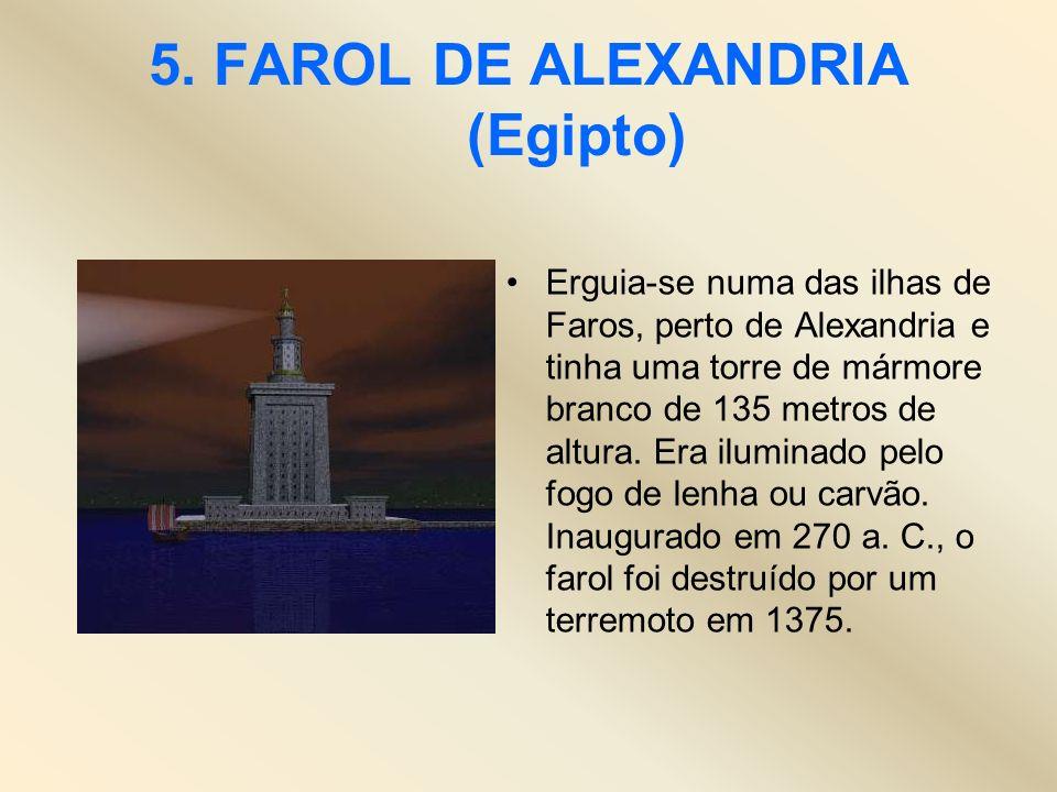 5. FAROL DE ALEXANDRIA (Egipto)