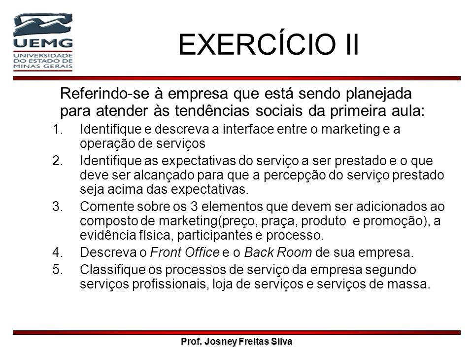 Prof. Josney Freitas Silva