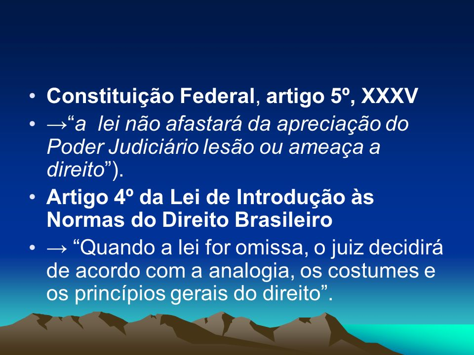 Constituição Federal, artigo 5º, XXXV