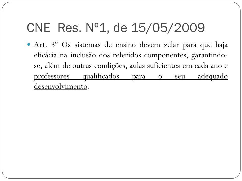 CNE Res. Nº1, de 15/05/2009