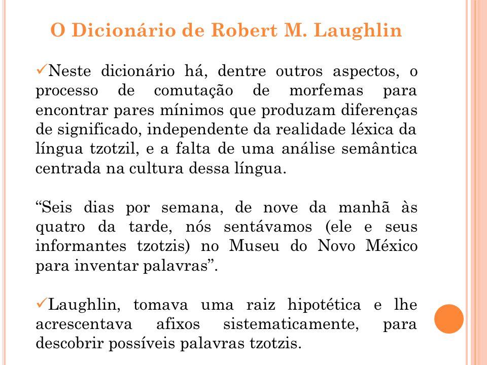 O Dicionário de Robert M. Laughlin
