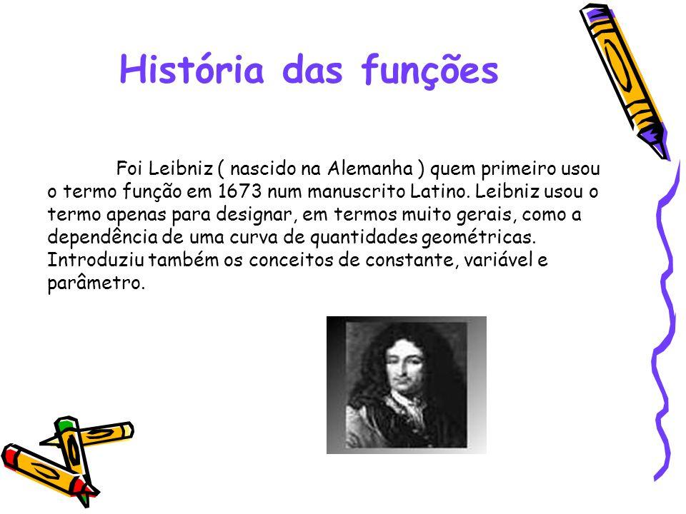 História das funções
