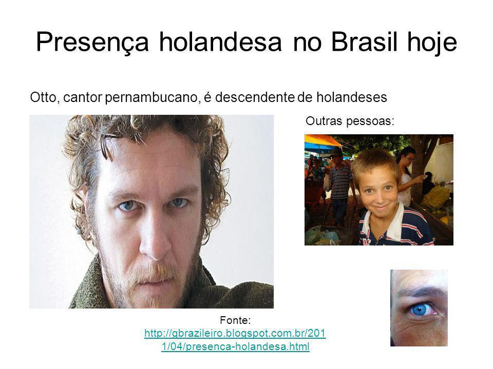 Presença holandesa no Brasil hoje