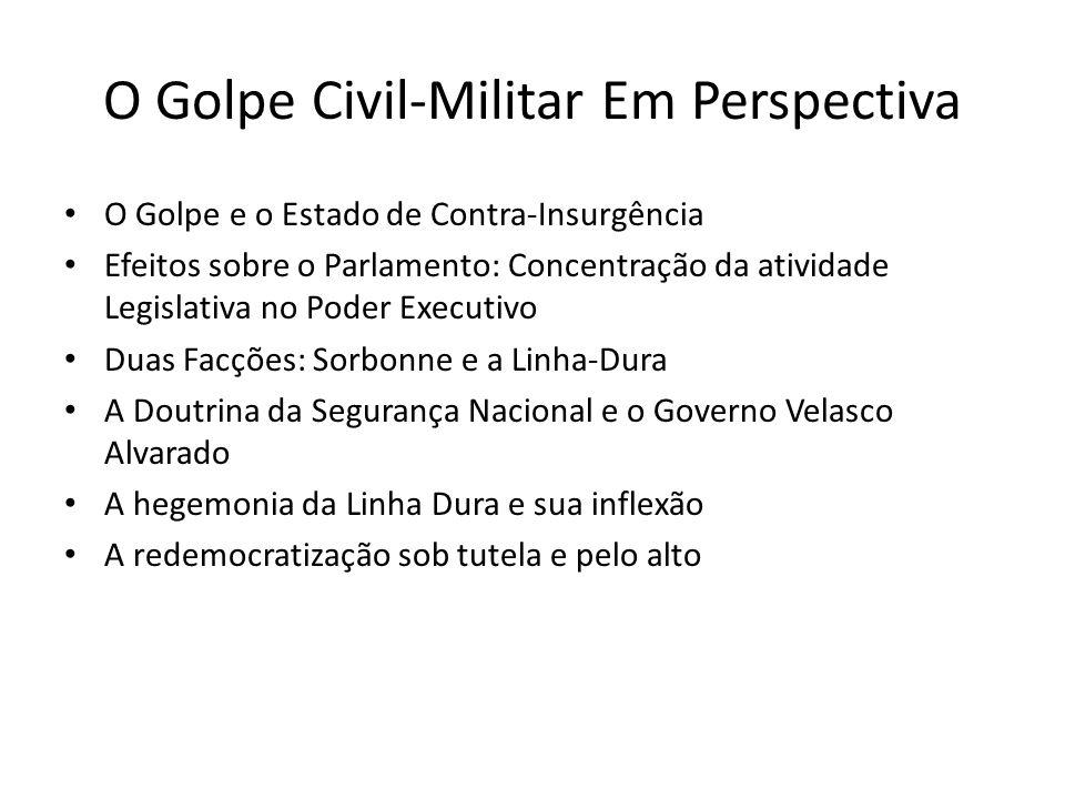 O Golpe Civil-Militar Em Perspectiva