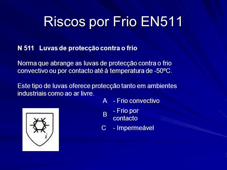Riscos por Frio EN511 - Frio convectivo