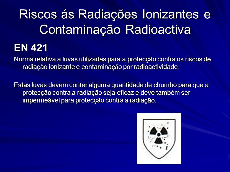 Riscos ás Radiações Ionizantes e Contaminação Radioactiva