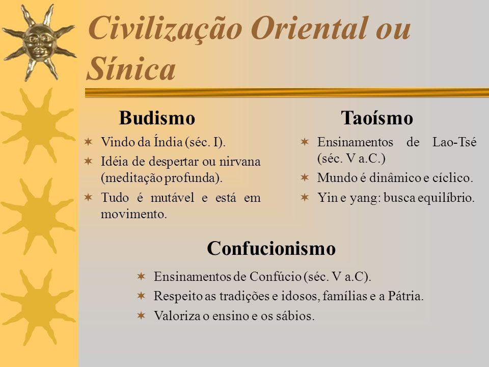 Civilização Oriental ou Sínica