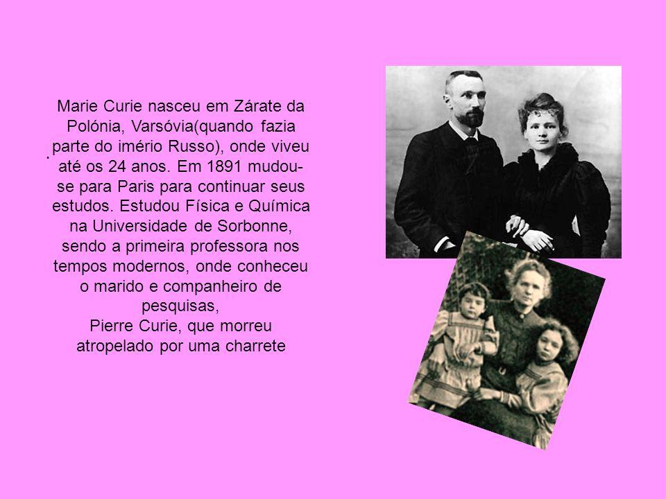 Pierre Curie, que morreu atropelado por uma charrete