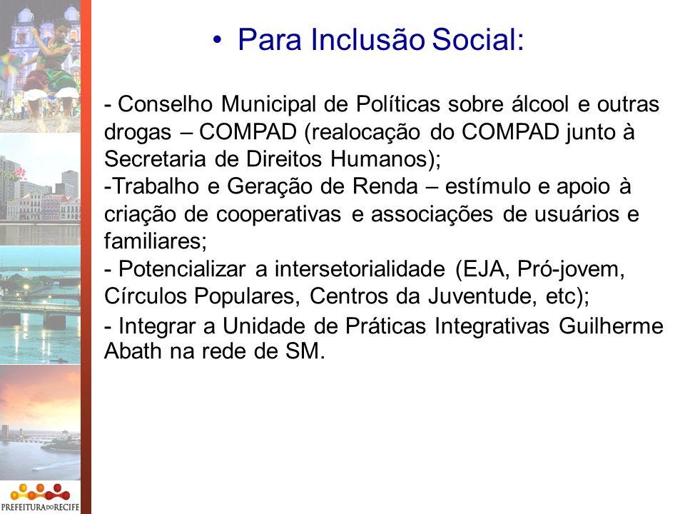 Para Inclusão Social: