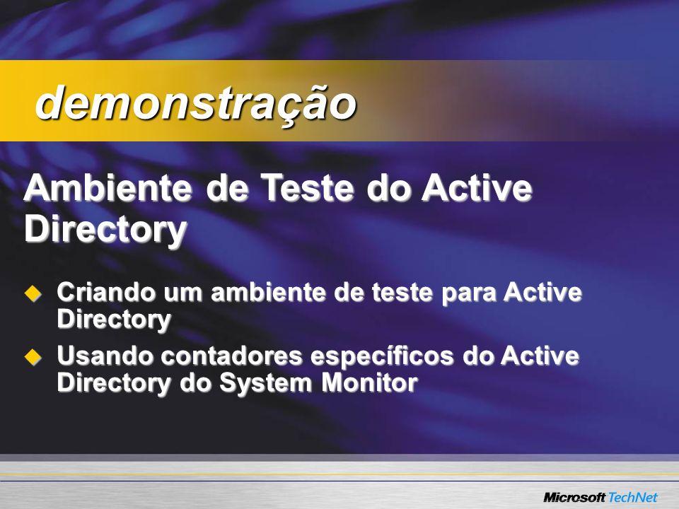 demonstração Ambiente de Teste do Active Directory