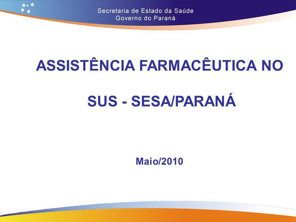 ASSISTÊNCIA FARMACÊUTICA NO