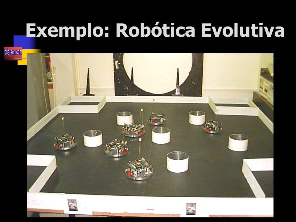 Exemplo: Robótica Evolutiva