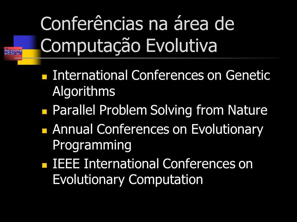 Conferências na área de Computação Evolutiva