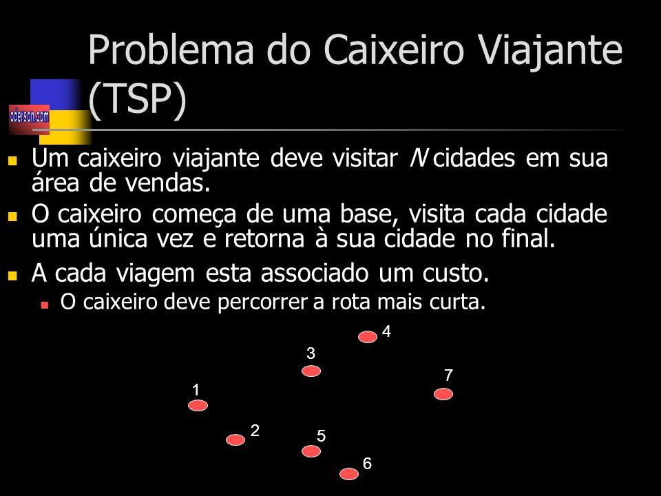 Problema do Caixeiro Viajante (TSP)