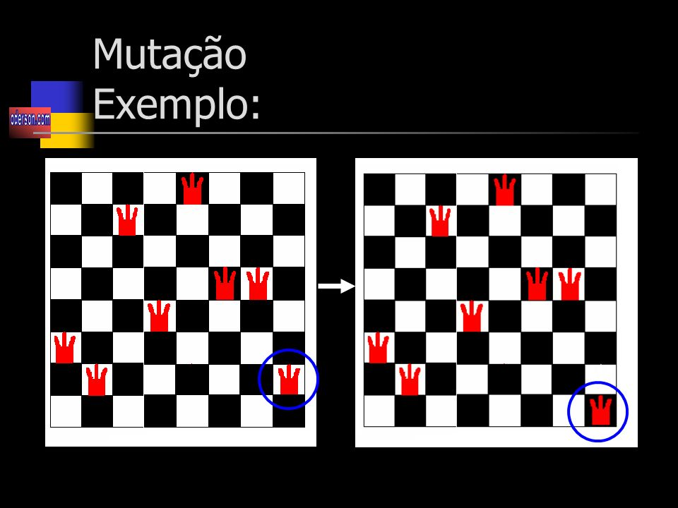 Mutação Exemplo: