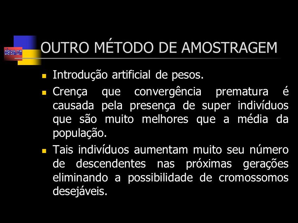 OUTRO MÉTODO DE AMOSTRAGEM