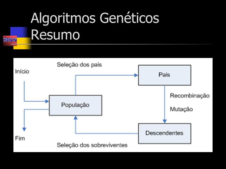 Algoritmos Genéticos Resumo