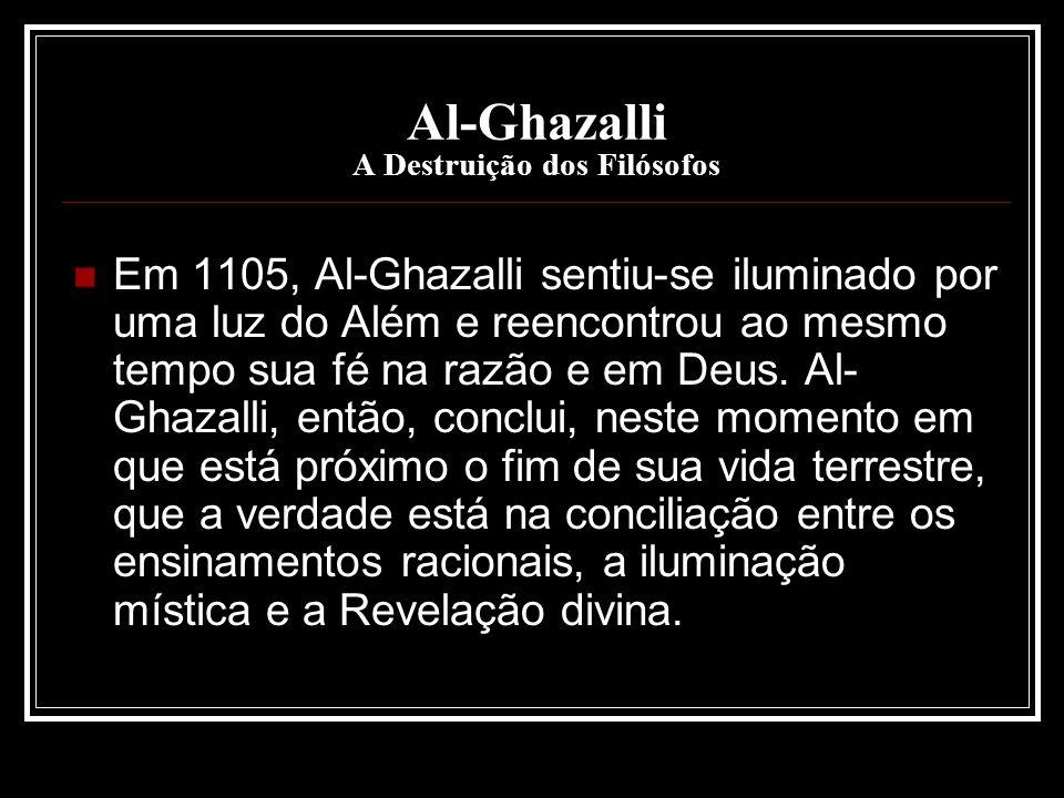Al-Ghazalli A Destruição dos Filósofos