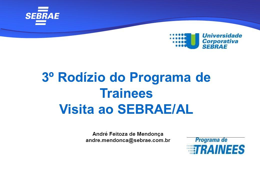 3º Rodízio do Programa de Trainees André Feitoza de Mendonça