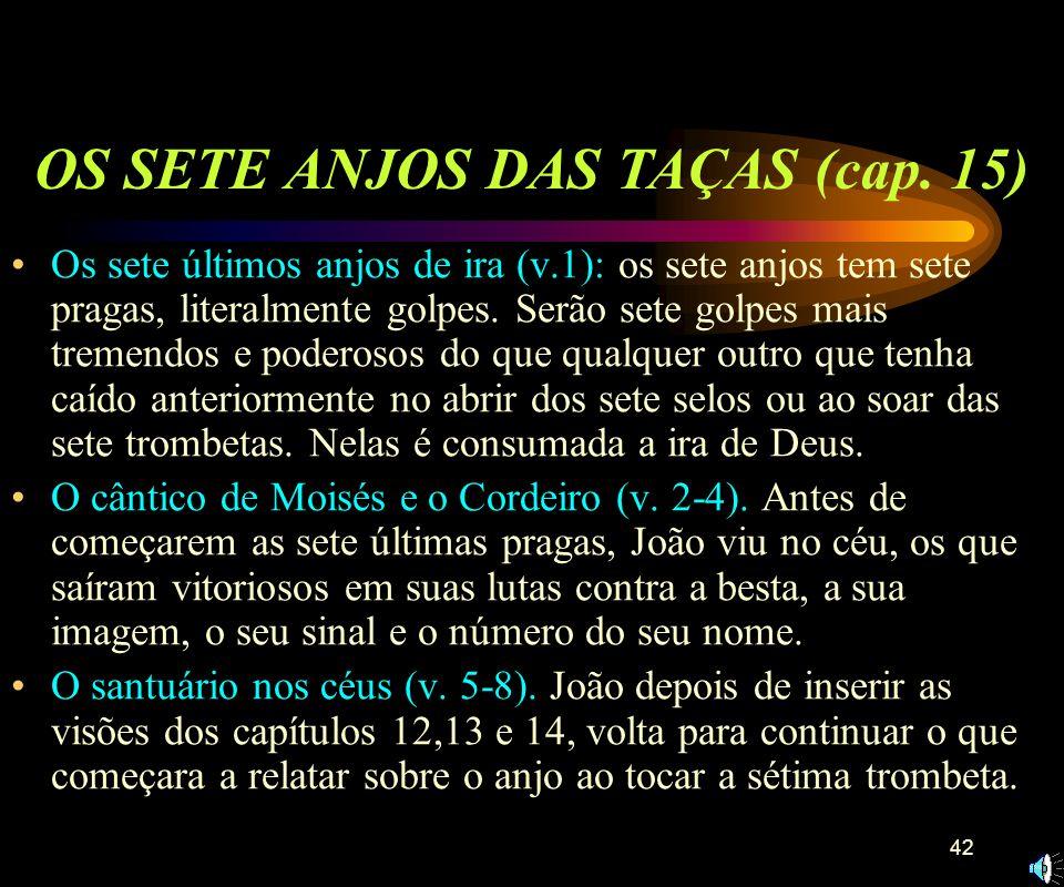 OS SETE ANJOS DAS TAÇAS (cap. 15)