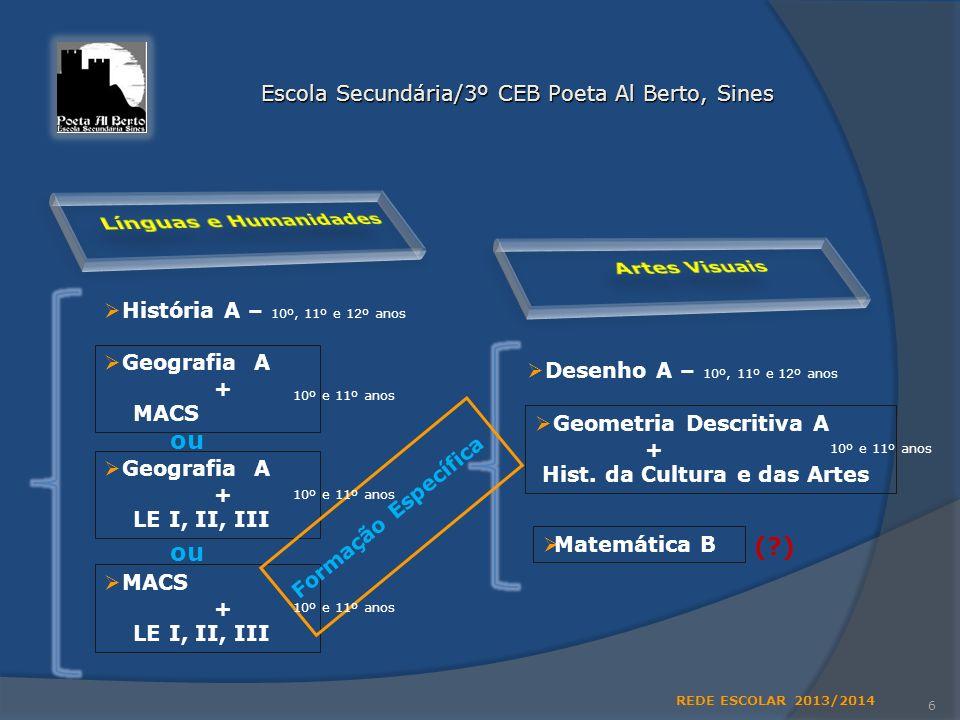 Escola Secundária/3º CEB Poeta Al Berto, Sines