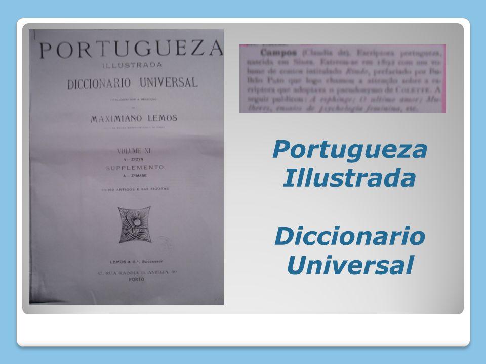Portugueza Illustrada Diccionario Universal