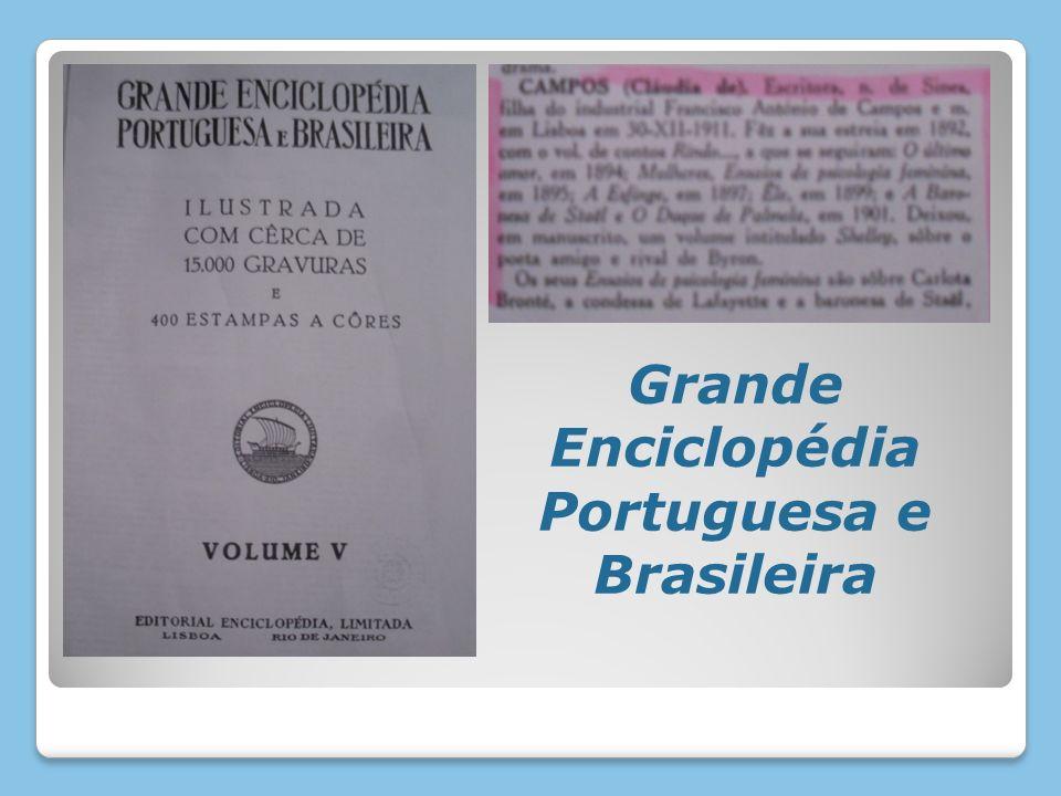 Grande Enciclopédia Portuguesa e Brasileira