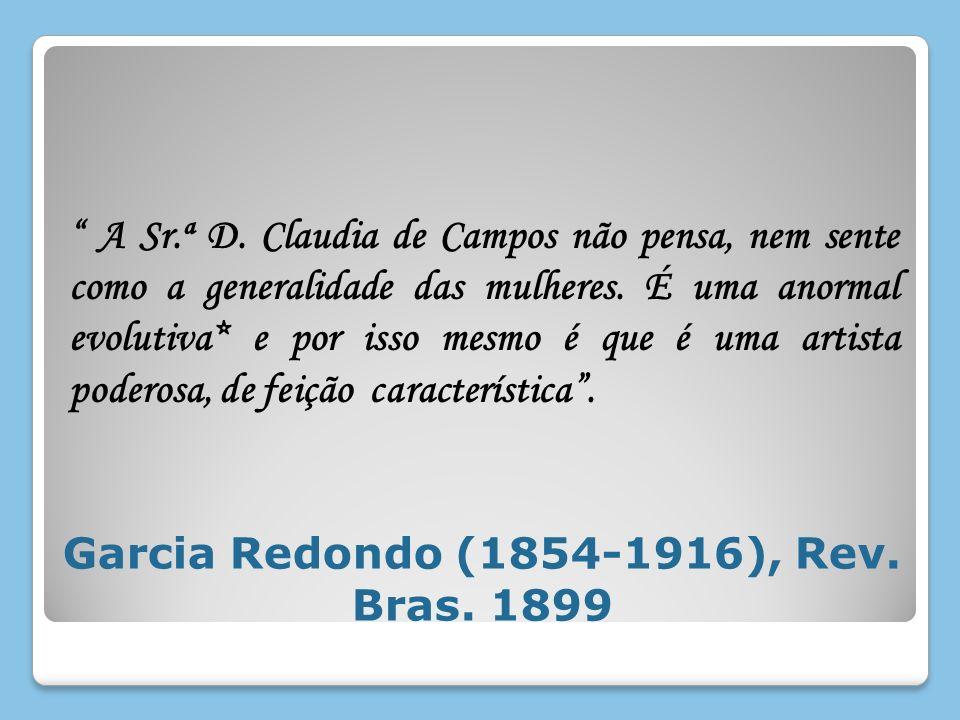 Garcia Redondo (1854-1916), Rev. Bras. 1899