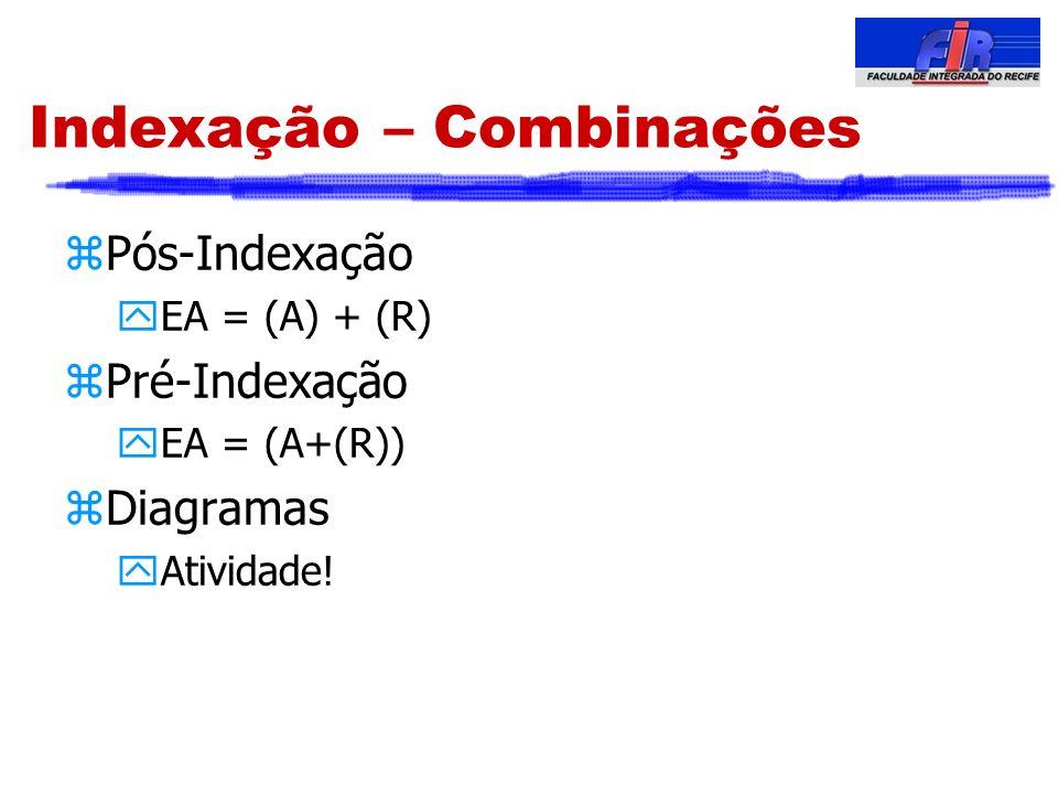 Indexação – Combinações