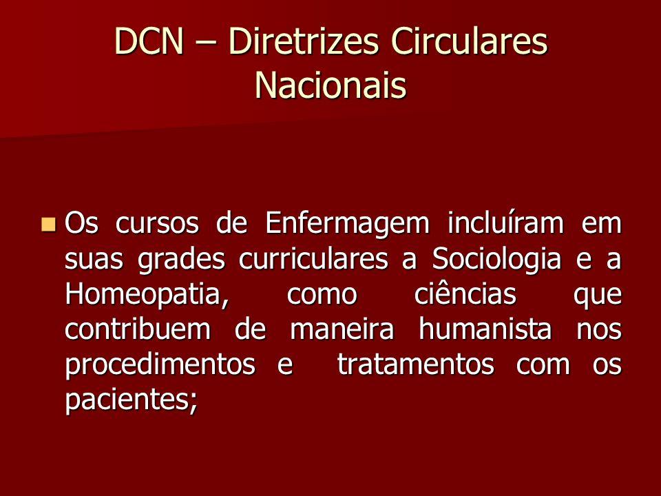 DCN – Diretrizes Circulares Nacionais