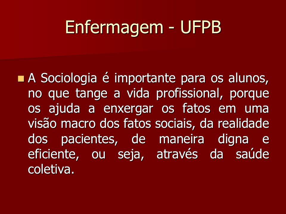 Enfermagem - UFPB