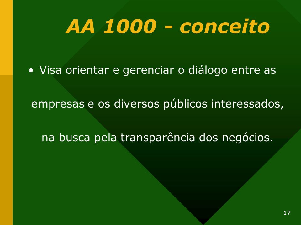 AA 1000 - conceito