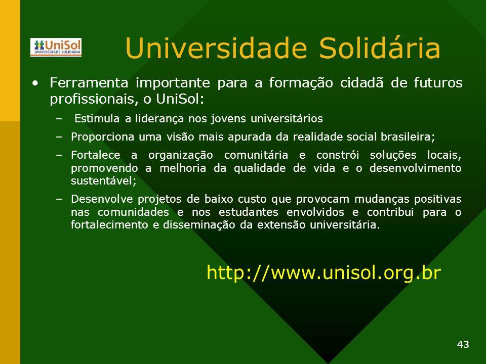 Universidade Solidária
