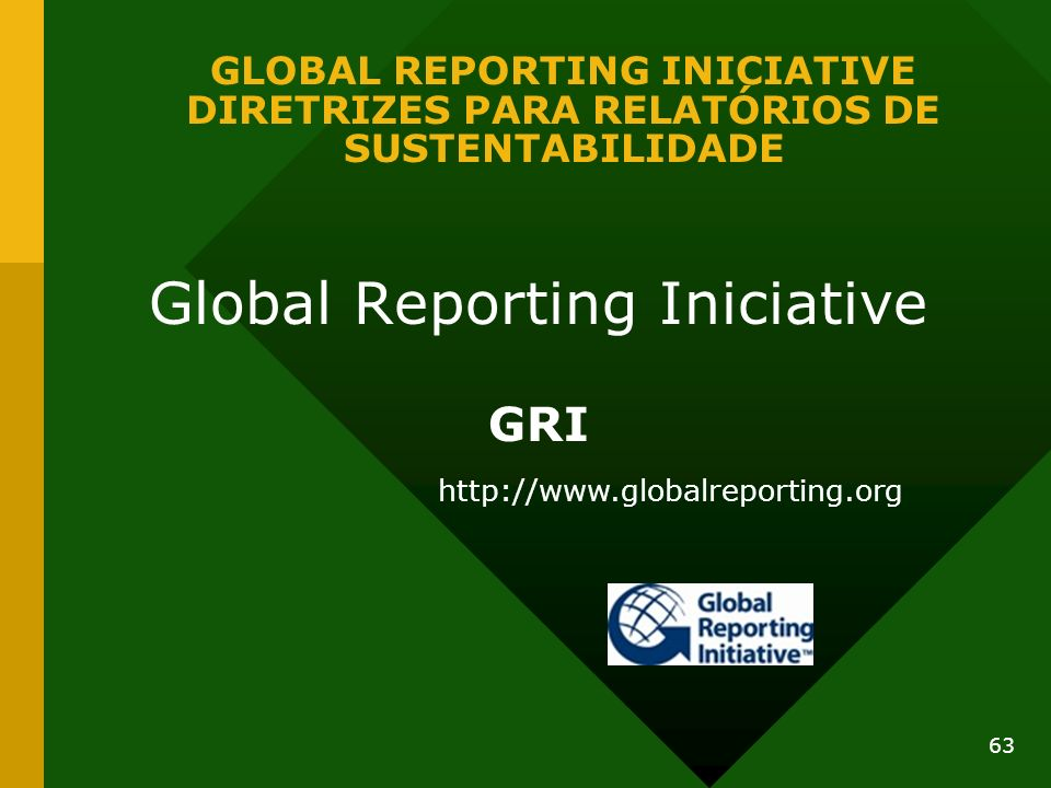 Global Reporting Iniciative