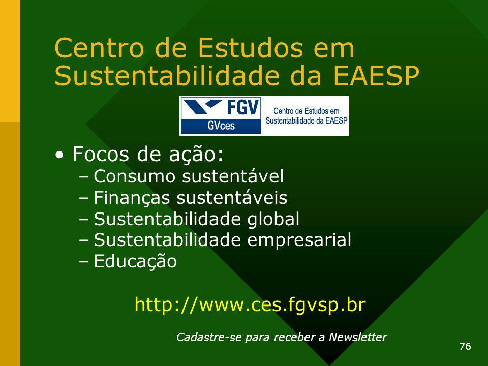 Centro de Estudos em Sustentabilidade da EAESP