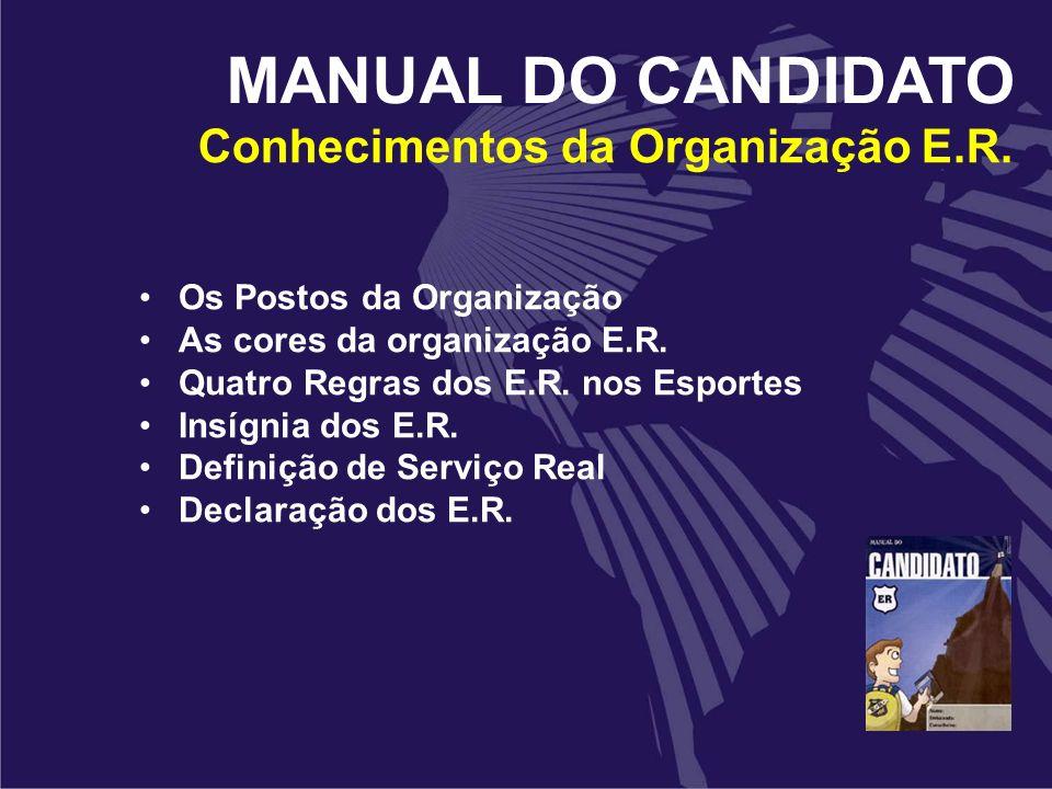 Conhecimentos da Organização E.R.
