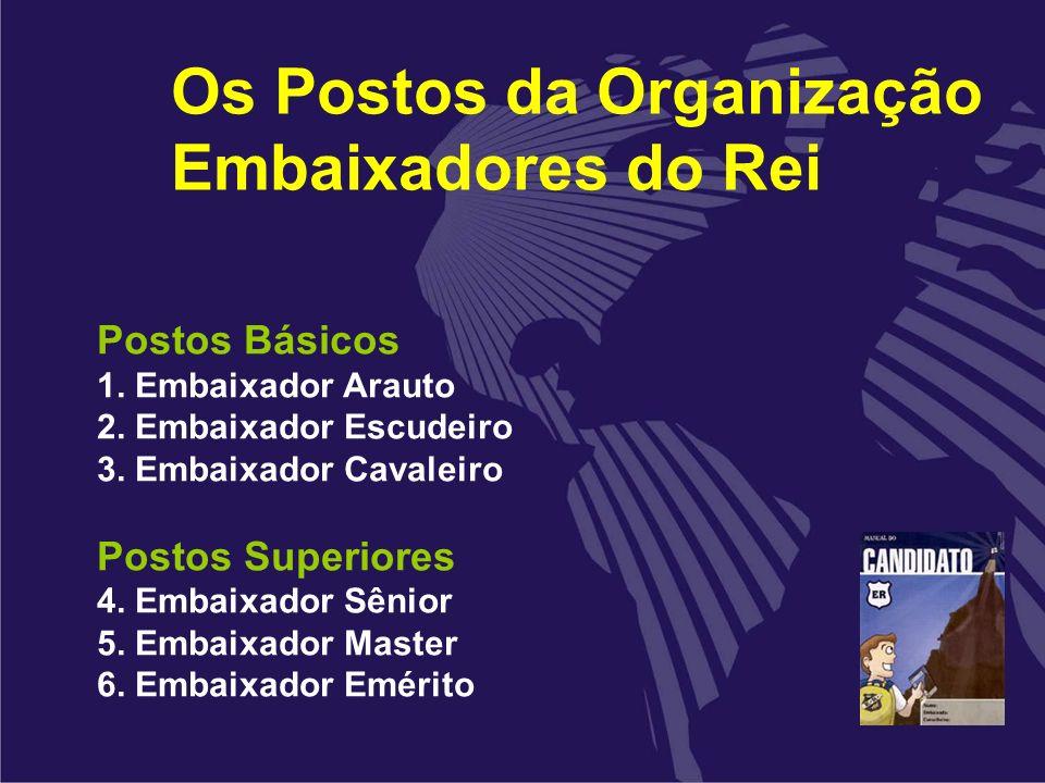 Os Postos da Organização Embaixadores do Rei
