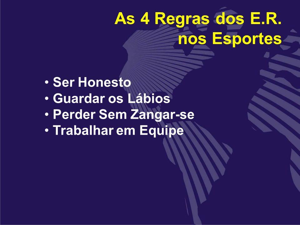 As 4 Regras dos E.R. nos Esportes
