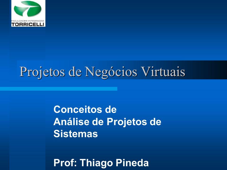 Projetos de Negócios Virtuais