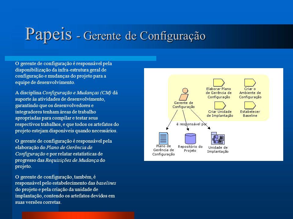 Papeis - Gerente de Configuração