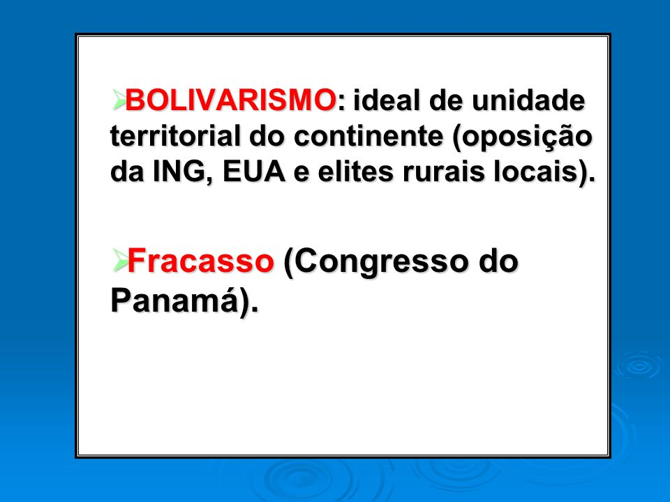Fracasso (Congresso do Panamá).