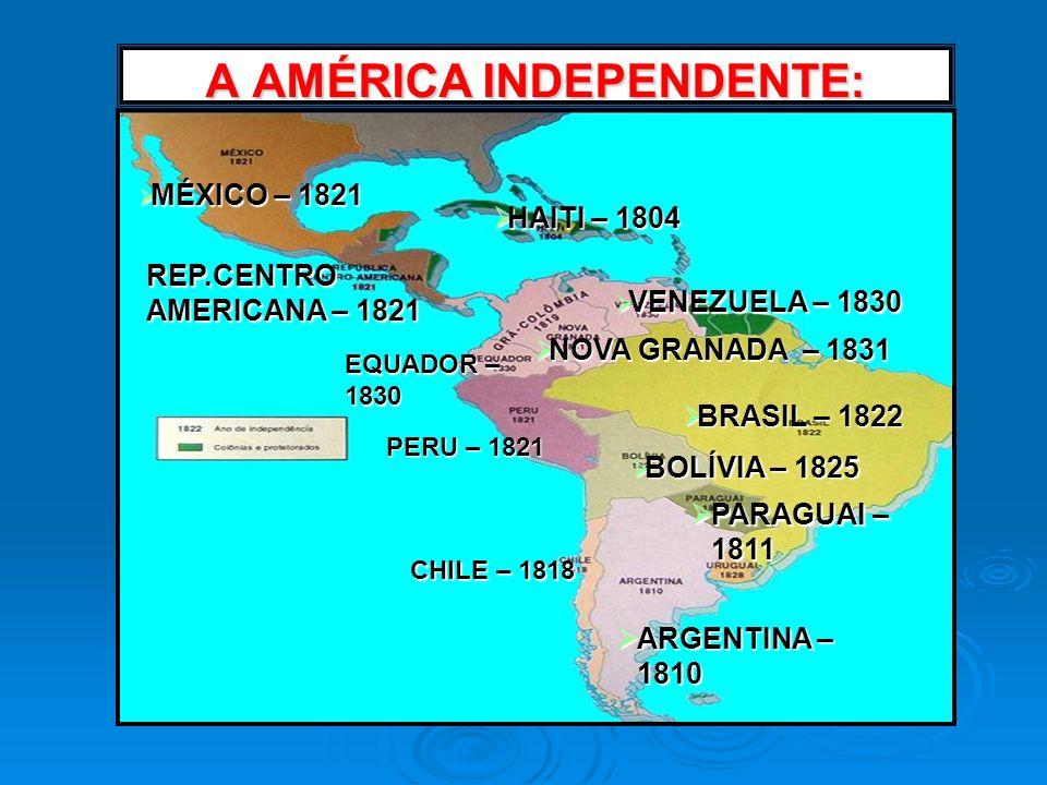 A AMÉRICA INDEPENDENTE: