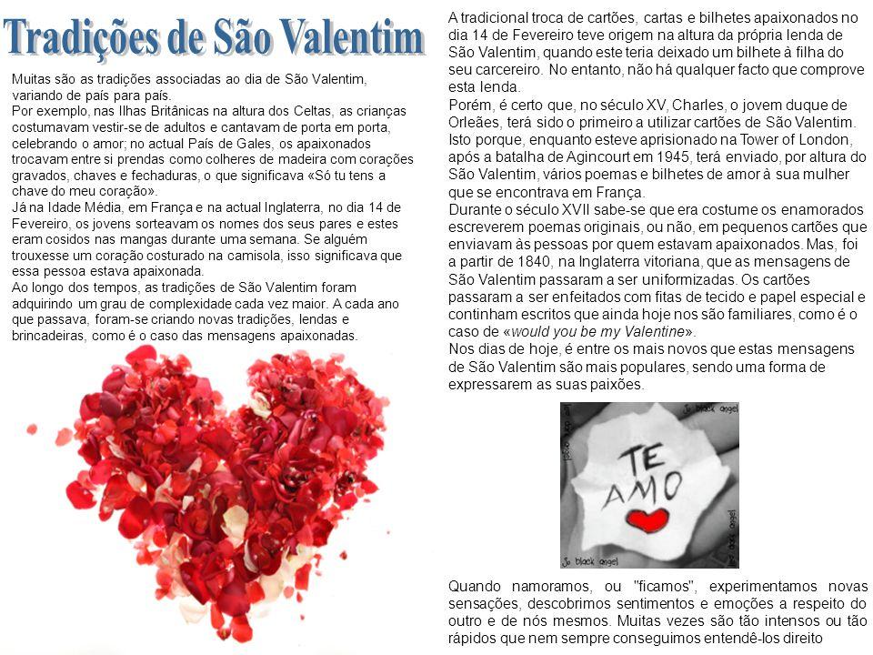 Tradições de São Valentim