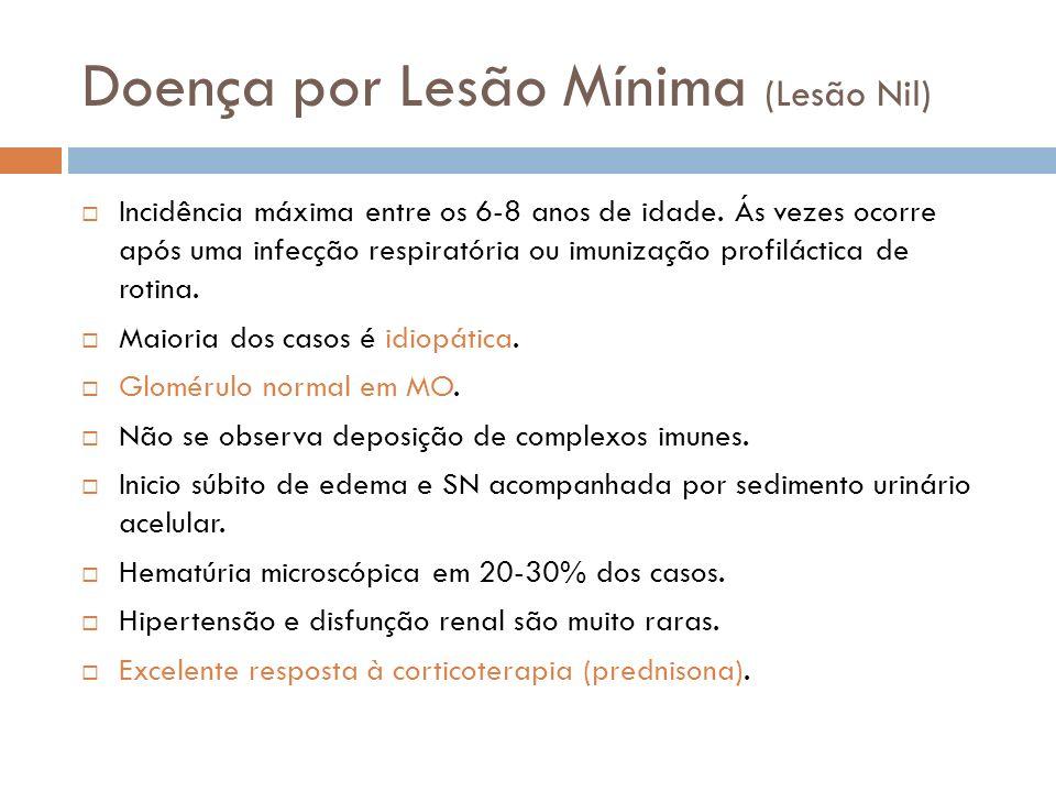 Doença por Lesão Mínima (Lesão Nil)