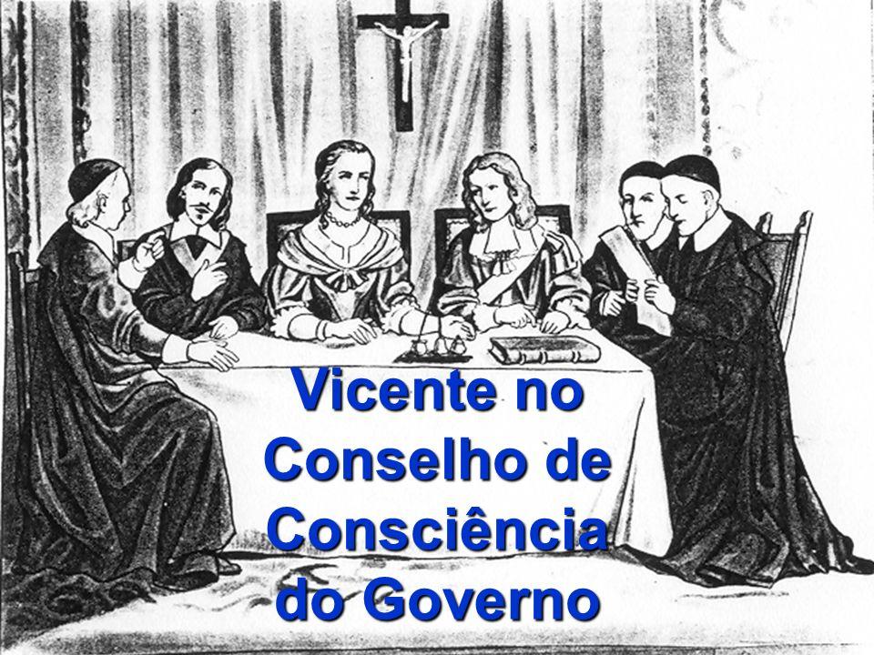 Vicente no Conselho de Consciência do Governo
